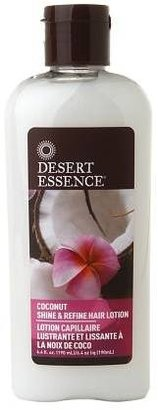 Desert Essence Shine & Refine Hair Lotion Coconut