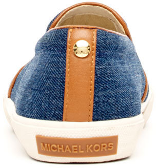 MICHAEL Michael Kors Boerum Denim Slip-On Sneaker