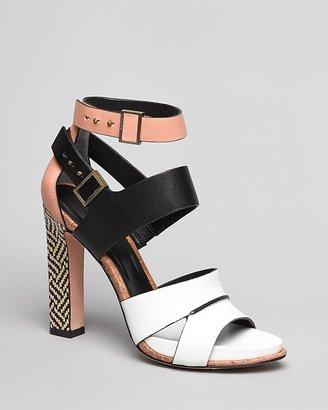 Rachel Roy Strappy Platform Sandals - Fawn High Heel