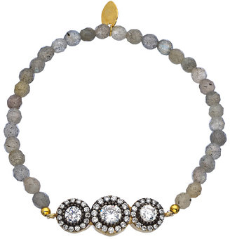 Seraphina CZ Three Circles Bracelet