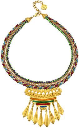 Ben-Amun Multi Color Tribal Necklace