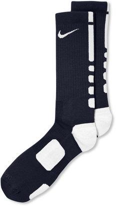 Nike Men's Athletic Elite Performance Basketball Socks $14 thestylecure.com