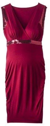 Merona Maternity Sleeveless Sequined Dress - Assorted Colors