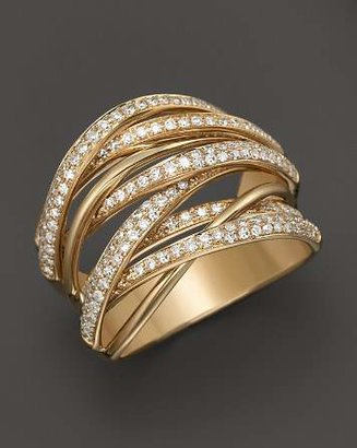 Bloomingdale's Diamond Multi-Row 14K Yellow Gold Band, .70 ct. t.w.