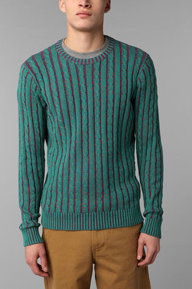 Urban Outfitters Hawkings McGill Plated Crew Neck Sweater