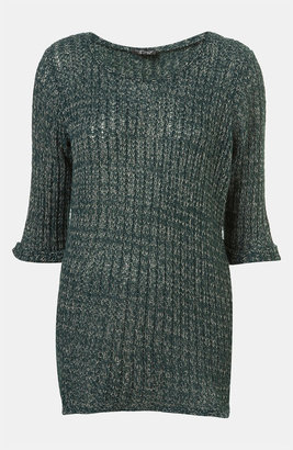 Topshop 'Fisherman Text' Sweater