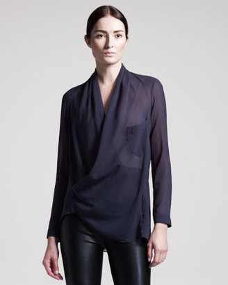 Helmut Lang Lyra Pocket Shirt