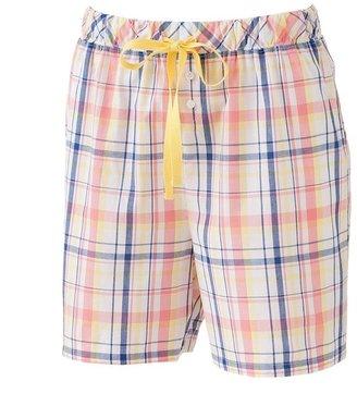 Croft & barrow ® tropic sun plaid woven shorts
