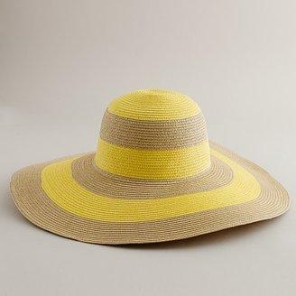J.Crew Stripe beach hat