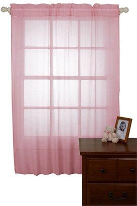 NoJo Shimmer Window Sheers - Pink
