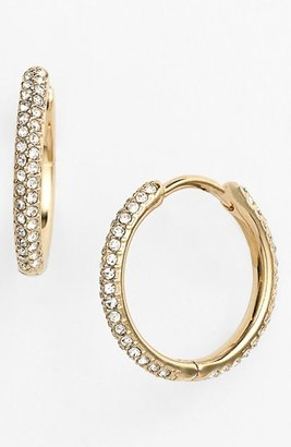 Women's Nadri Small Pave Hoop Earrings (Nordstrom Exclusive) $45 thestylecure.com