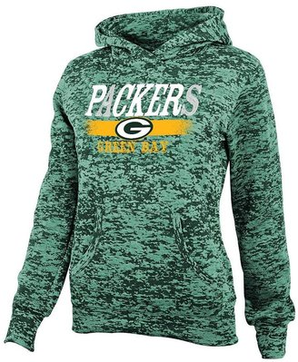 Green bay packers burnout hoodie - girls 7-16