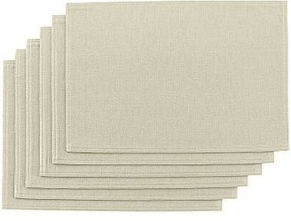 JCPenney jcp homeTM Set of 6 Solid Casual Placemats