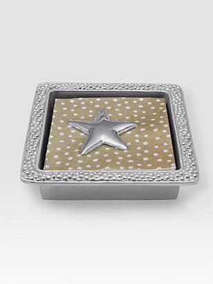 Mariposa Star Napkin Box