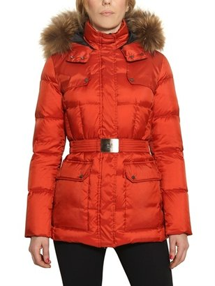 ADD Murmasky Fur Hooded Nylon Down Jacket