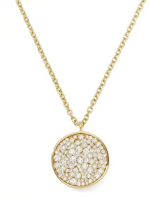 Ippolita Stardust Disc Pendant Necklace