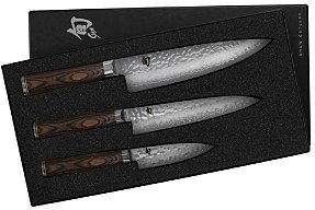 Shun Premier 3-Piece Starter Knife Set