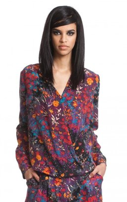 Tracy Reese Surplice Blouse