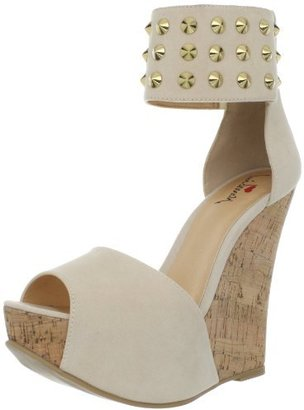 Luichiny Women's Cassi Dee Wedge Sandal