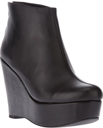 Jeffrey Campbell 'Alicia' wedge ankle boot