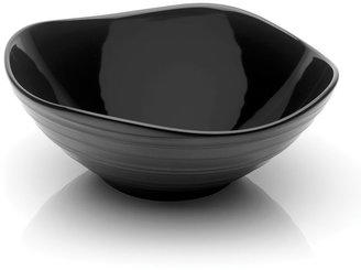 Mikasa Swirl White Square Vegetable Bowl