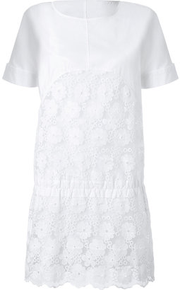 See by Chloe Cotton Eyelet Detailed Dress