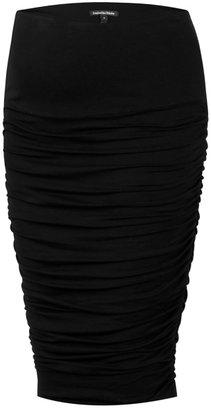 Isabella Oliver Midi Ruched Maternity Skirt