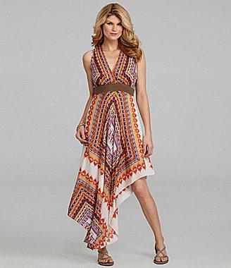 Antonio Melani Lourdes Handkerchief-Print Dress