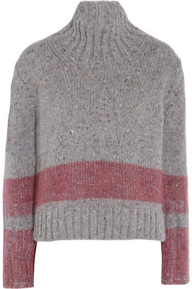 Jil Sander Wool-blend turtleneck sweater