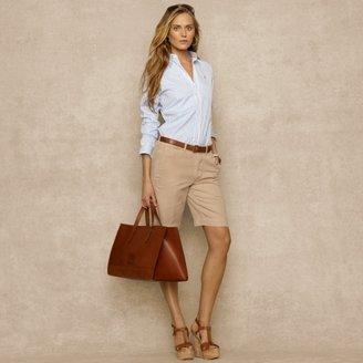 Ralph Lauren Blue Label Slim-Fit Striped Poplin Shirt