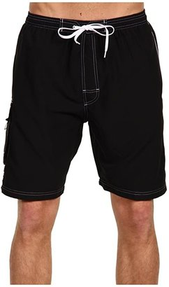 TYR Challenger Trunk (Black) Men's Swimwear