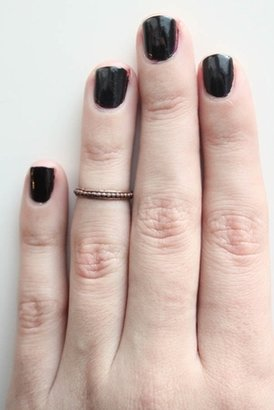 SunaharA Beaded Knuckle Ring in Copper