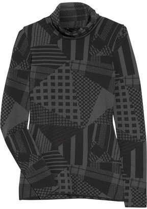 McQ Graphic wool-blend sweater
