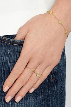 Jennifer Meyer Mini Heart 18-karat gold ring
