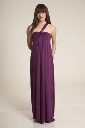 Lauren Conrad Nora Long Dress in Sugarplum $270 thestylecure.com
