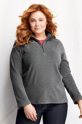 Lands' End Women's Plus Size Polartec Aircore 100 Half-zip Pullover