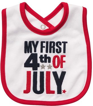 Carter's my first 4th of july bib - baby