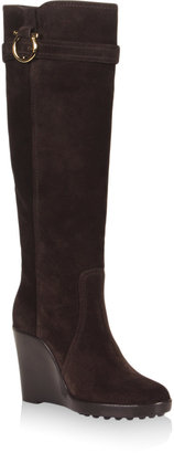 Salvatore Ferragamo Wedge Boot