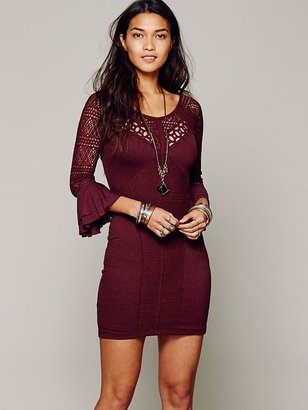 Free People City Girl Bodycon Dress