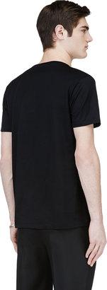 Lanvin Black Beetle Graphic T-Shirt