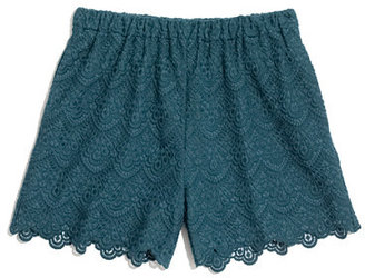 Madewell Scallop Lace Shorts