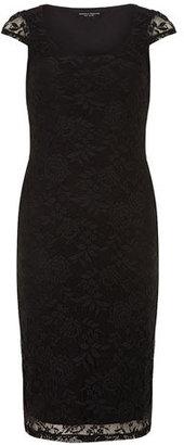 Dorothy Perkins Black lace tube dress