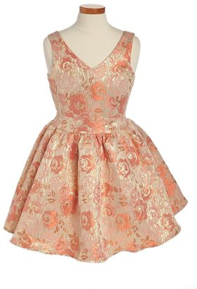 Un Deux Trois Jacquard Dress (Big Girls)