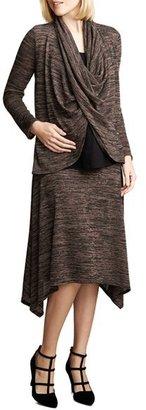 Maternal America Drape Maternity/Nursing Top $100.80 thestylecure.com