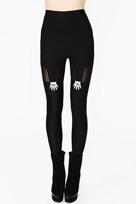 Nasty Gal Handy Suspender Leggings
