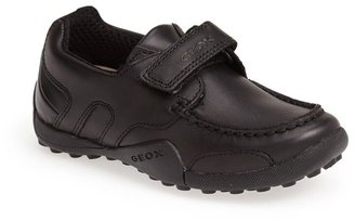 Geox Snake Moc 2 Leather Waterproof Loafer