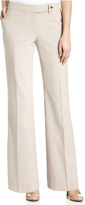 Calvin Klein Pants, Modern Tab-Front Trousers