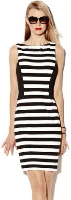 Vince Camuto Colorblock Stripe Dress