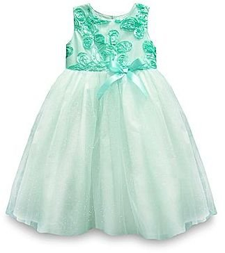 JCPenney Marmellata Mint Soutache Dress - Girls 12m-6y