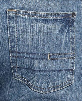 Calvin Klein Jeans Straight-Leg Jeans, Orbit Blue Wash